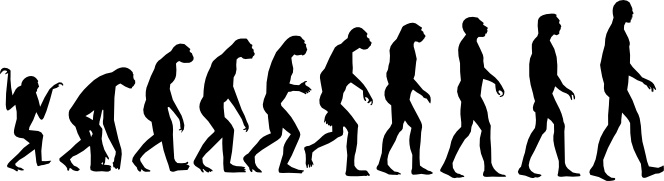"""an overview of the evolution of man Hublin says these individuals were not """"modern humans"""" like us, but a slightly earlier form of homo sapiens, one with a less developed brain and perhaps other differences in its dna and he says these differences between us and them are proof that evolution occurs over a gradient it also shows the."""